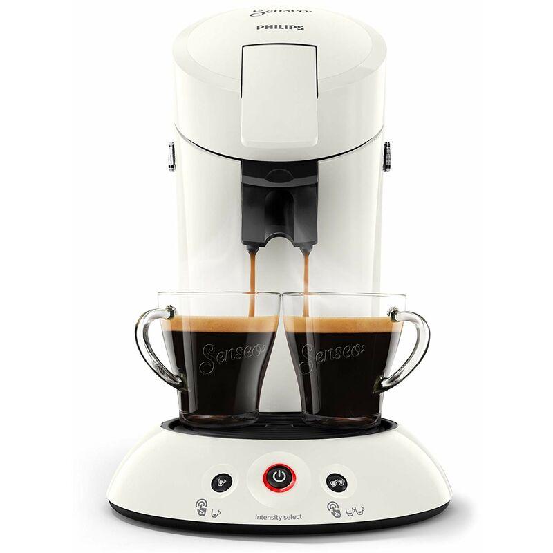 Senseo ® - Philips Machine à café Senseo New Original, Crema Plus, intensité du café Choix, noir Weiß