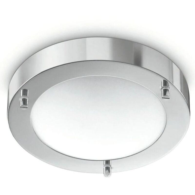 Image of Philips myBathroom Ceiling Lamp Treats Chrome 320091116 - Silver