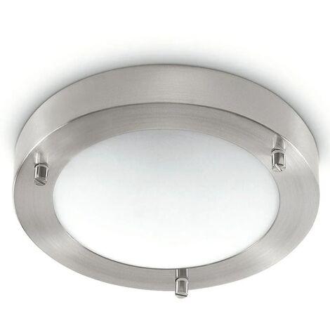 Philips myBathroom Ceiling Lamp Treats Matt Chrome 320091716 - Silver