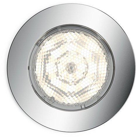 Philips myBathroom Dreaminess - Foco empotrable, redondo, LED, 1 x 4,5 W, color gris [Clase de eficiencia energética A++]