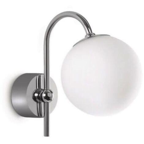 Philips myBathroom Lámpara de pared Silvery cromo y blanca 340861116