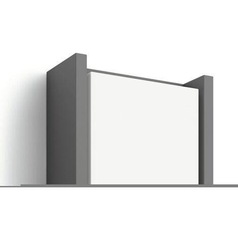 Philips myGarden Lámpara de pared LED Arbour 6 W antracita 164609316
