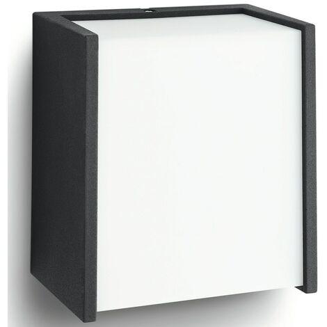Philips myGarden Lámpara de pared LED Macaw 3 W negra 173023016