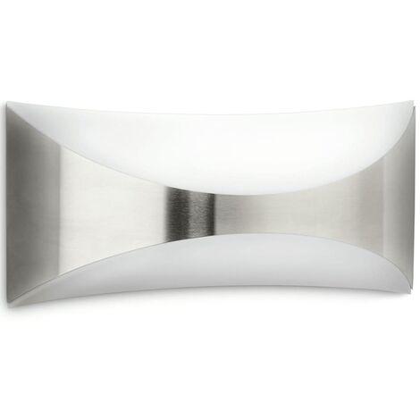 Philips myGarden Lámpara de pared Seedling 23 W plateada 171664716 - Plateado