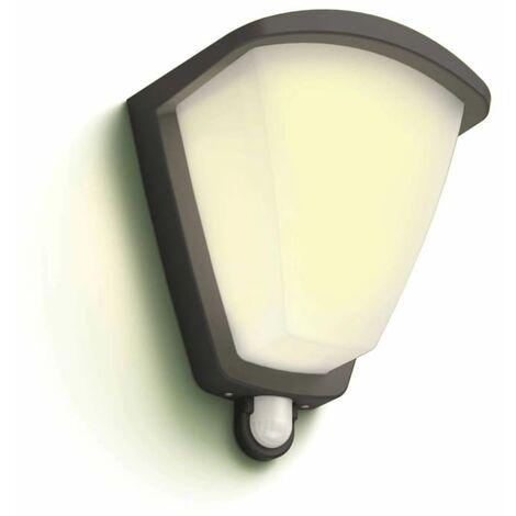 Philips myGarden Sensor Wall Light Kiskadee 1x42W Anthracite 1738493PN