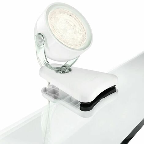 Philips myLiving Lampe à pince Dyna LED 3 W Blanc 532313116