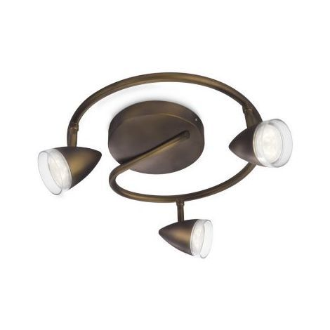 Philips myLiving Maple 915004333401 - Foco LED, bronce