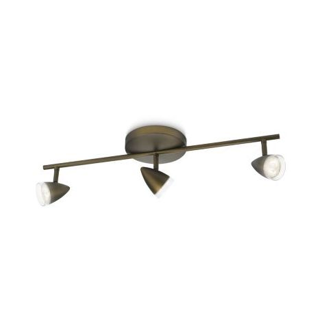 Philips myLiving Maple 915004381401 - Foco LED, color bronce