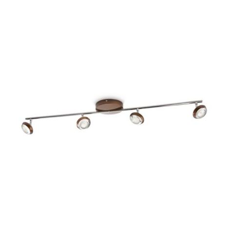 Philips myLiving Sepia 915004147801 - Foco LED, color marrón