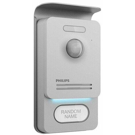 Philips - Platine de rue distance maxi. 120 m - WelcomeEye Pro Outdoor - TNT