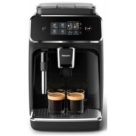 PHILIPS ROBOT CAFE CERAMIQUE 3BOISSONS 5MOUTURES 3 REGLAGES INTENSITE ET VOLUME