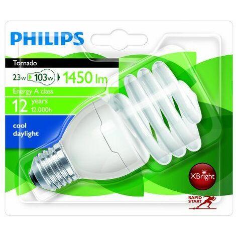Philips Tornado Bombilla espiral de bajo consumo