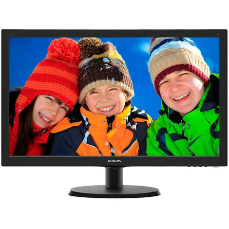 Philips V Line Moniteur LCD avec SmartControl Lite 223V5LSB2/10 - 54,6 cm (21.5) - 1920 x 1080 pixels - Full HD - LED - 5 ms - Noir (223V5LSB2/10)