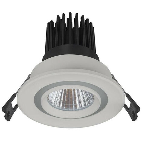 Phoebe LED Downlight 12W Hera Dual 3000K and 6000K Warm White + Daylight 24° 770lm Recessed