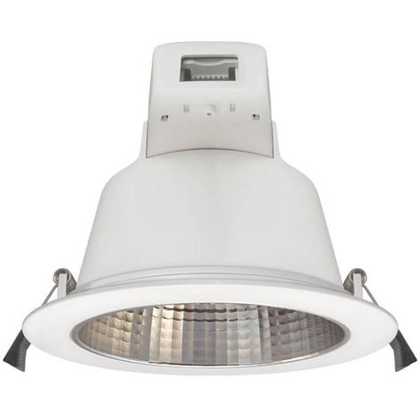 Phoebe LED Downlight 25W Dimmable Plato Tri-Colour CCT 90° White IP54