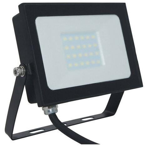 "main image of ""Phoebe LED Floodlight 20W Atlas-Mini IP65 (100W Equivalent) 4000K Cool White Black 1500lm Floodlights Security External Outdoor Weatherproof Light"""