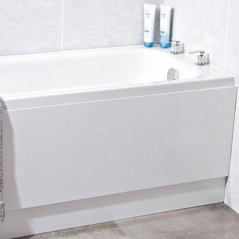 Phoenix - 180 x 70 reinforced Single End Bath - White