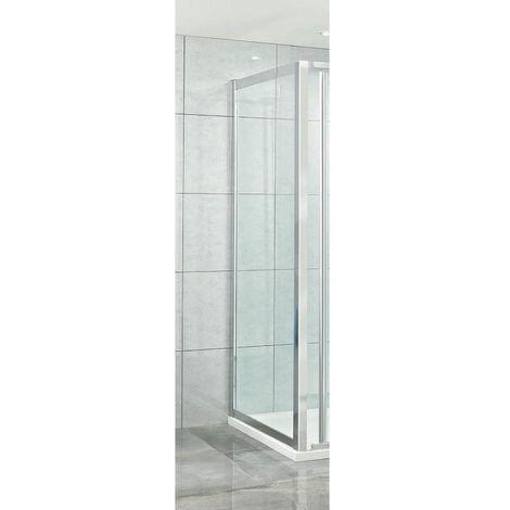 Phoenix 8mm Clear Glass 1000mm Shower Side Panel