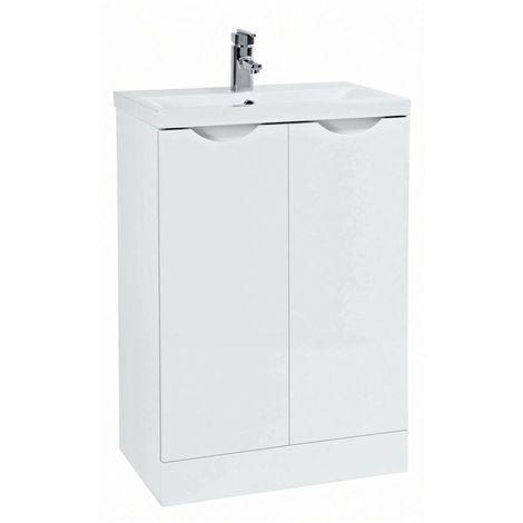 Phoenix - Amari 60cm Unit & Basin - White