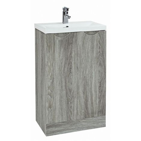 Phoenix Amari Vanity Unit With Basin 88H x 51W x 39D Wall Mounted Avola