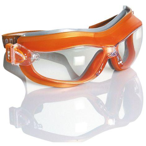 PHOENIX, Gafa Protección Ojos Integral Ocular Claro Antivaho, 1B 3 4. Ref. 10490