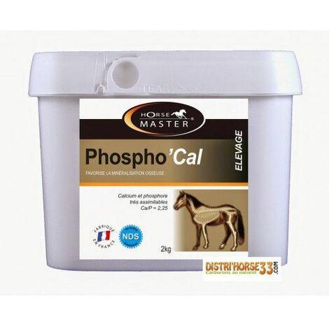 PHOSPHO'CAL - Pour une bonne minéralisation de l'os du poulain - Contenance: 2 kg