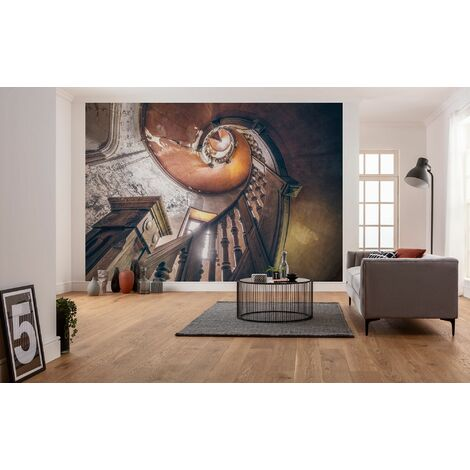 Photo murale intissée de Komar - Oak Spiral - Taille: 400 x 280 cm