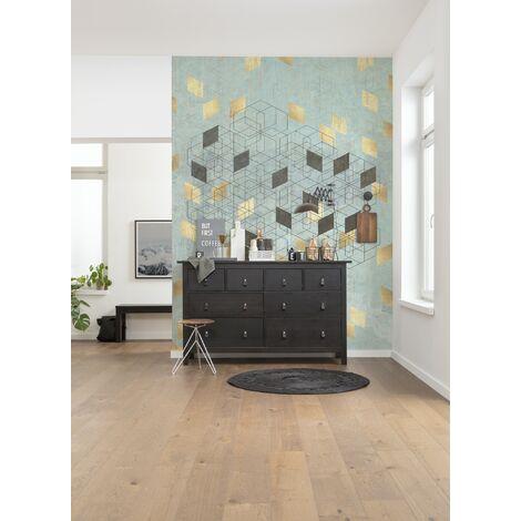 Photo murale intissée de Komar - Plaqué Or - Taille: 200 x 280 cm