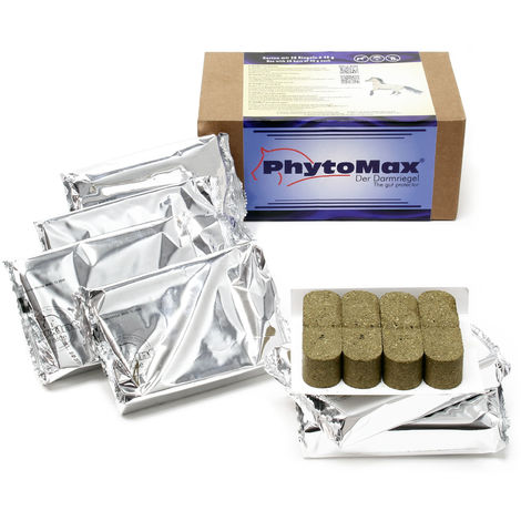PhytoMax® Herbal Bars for Horse Faecal Water Syndrome (FWS) soothes Intestines