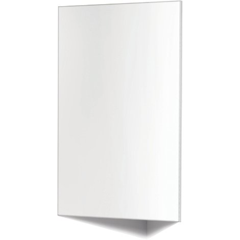 Piano Bad Eckspiegelschrank Weiss Hochglanz 30 cm Spiegelschrank Badezimmer