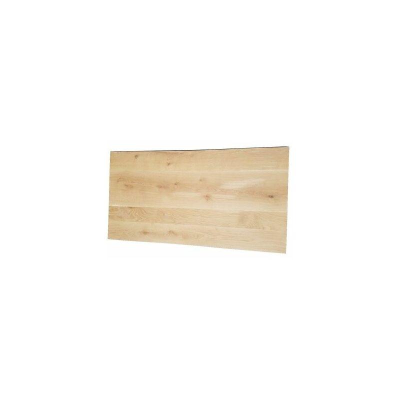 Piano tavolo legno massello rovere europeo refilato spessore 4 cm ...
