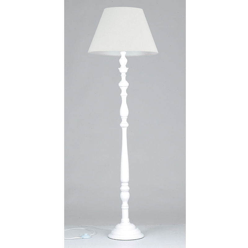 Lampada da terra in bianco e nero IKEA NOT