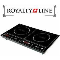 Piastra induzione doppio piano portatile elettrico fornello cottura 4200W Royal