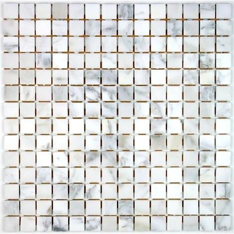 piastrella in pietra mosaico di pietra Nizza Blanc