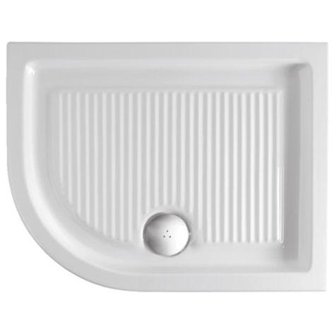Piatto Doccia Ceramica 70x90.Piatto Doccia 70x90 Angolare Sinistro Mod Plano Ceramica Globo