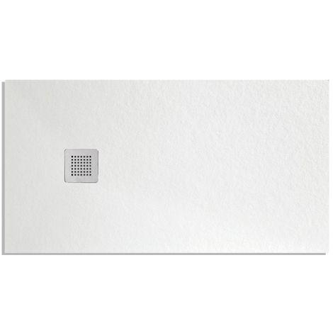 Piatto Doccia 80x120 Bianco Effetto Pietra London Althea