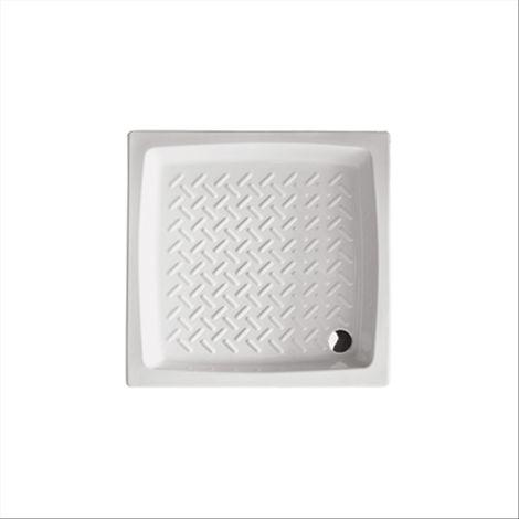 Piatto doccia h 11 cm in ceramica hera 65x65 quadrato althea