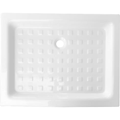Piatto doccia in Ceramica 72x90 altezza standard con antiscivolo