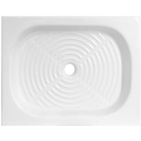 Piatto doccia Olimpo in ceramica 60x80 h10 rettangolare