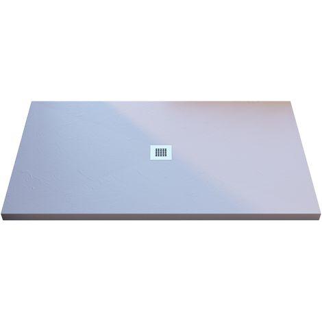 Piatto doccia promozione shock bianco mineral marmo tagliabile 3cm