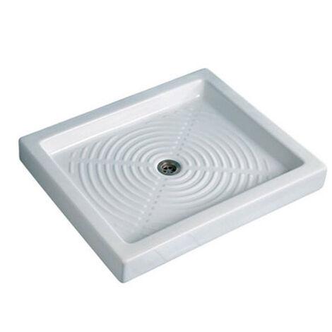 Piatto doccia Thebe in ceramica 65x80 h10 rettang.