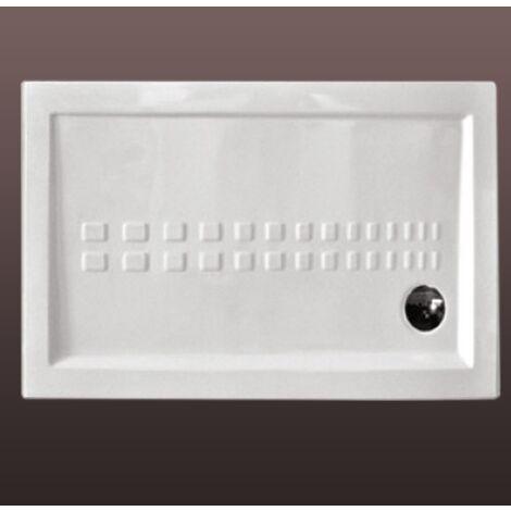 Piatto Doccia Connect 80x100.Piatto Doccia Tradizionale In Ceramica 120x80 Filo Pavimento Linea