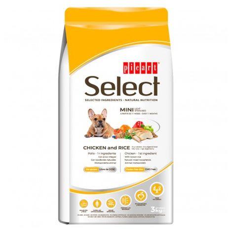 Picart Select Mini Adult Light Sterilised Saco de 3 Kg
