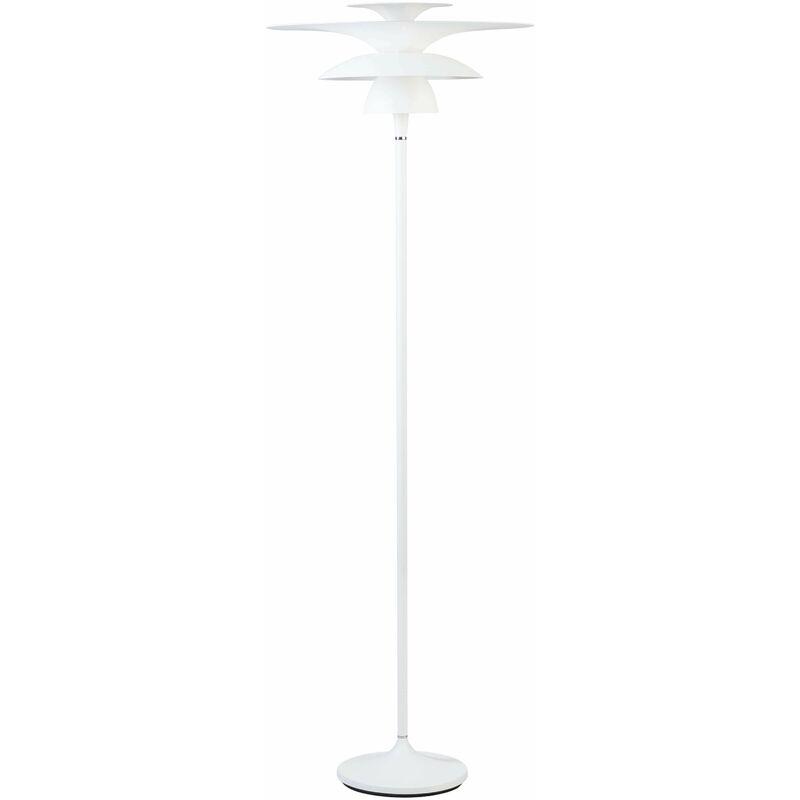 Image of 21-belid - Picasso Floor Lamp in Metal and Matt White Diameter 50 Cm