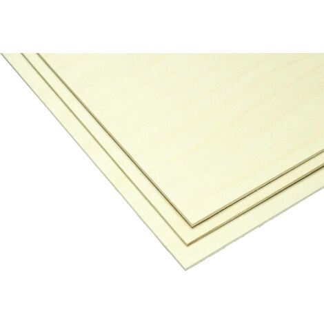 Pichler Birken-Sperrholz (L x B x H) 600 x 300 x 4.0mm 2St. X956051
