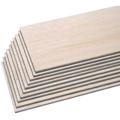 Pichler C6442 Balsa-Brettchen (L x B x H) 1000 x 100 x 2.5mm 10St. W286231