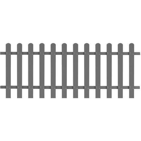 Picket Fence WPC 200x80 cm