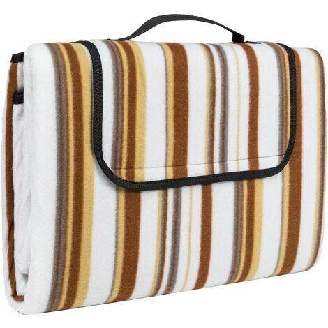 Picnic blanket 200x150cm - fleece blanket, picnic rug, large picnic blanket