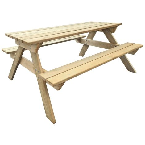 Picnic Table 150x135x71.5 cm Wood