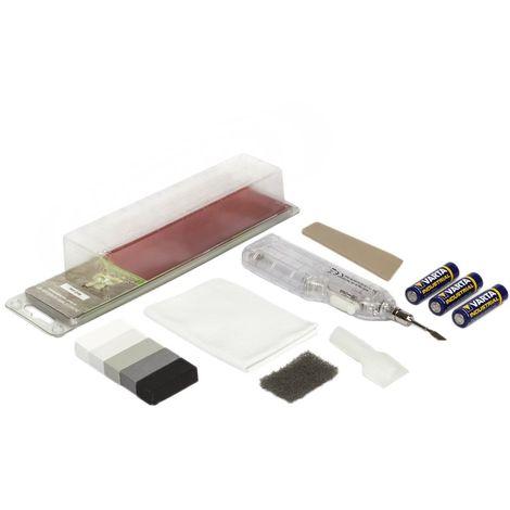 Picobello, Set di riparazione per piastrelle a muro e a pavimento, colore: Bianco/Grigio, G61650